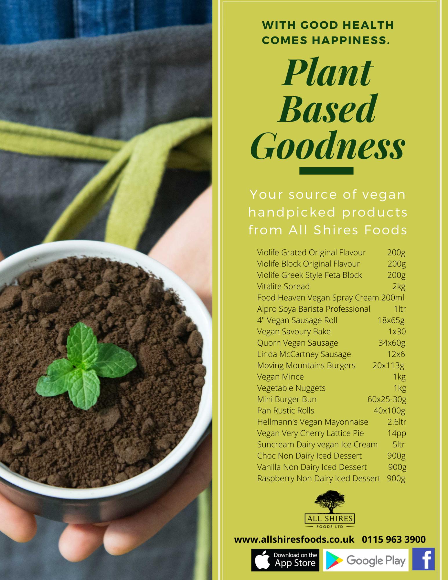 plant based goodness